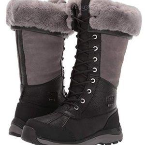 UGG Adirondack III TALL Boot, size 9, Black